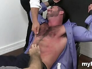 spicy foot fetish gay tryout