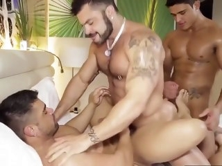 big cock Latino Power Fuck bondage