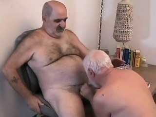 daddy Two mature men getting off gay