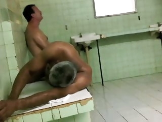 amateur (gay) horny in shower, gym, sauna 6 locker room (gay)
