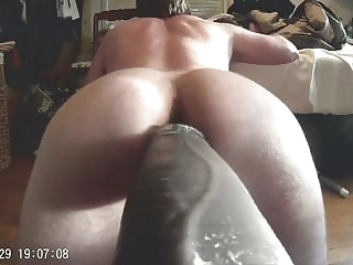 amateur (gay) Mr. Hankeys El Rey 12 inch Cock Fucking Me Deep big cock (gay)