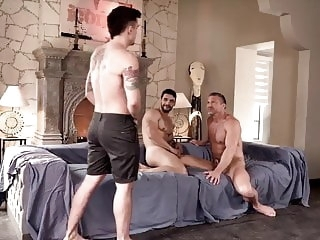 group sex (gay) VIDEO 336 old+young (gay)