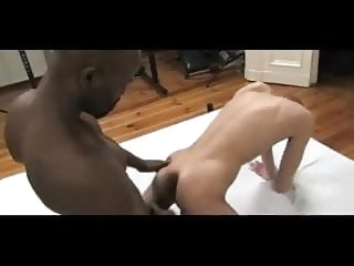 man (gay) BLACK muscled DAD fucks hungrey WHITE ass black (gay)
