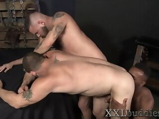 bigdick Bear spermed by bbc gays