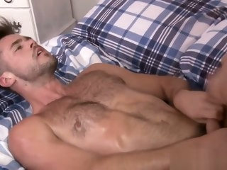 hd Handsome muscle hunks bedroom fucking hunk